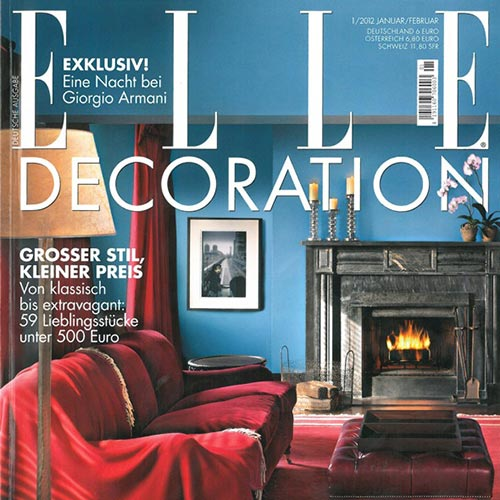 Elle Decoration 2012 | Cortina & Käll
