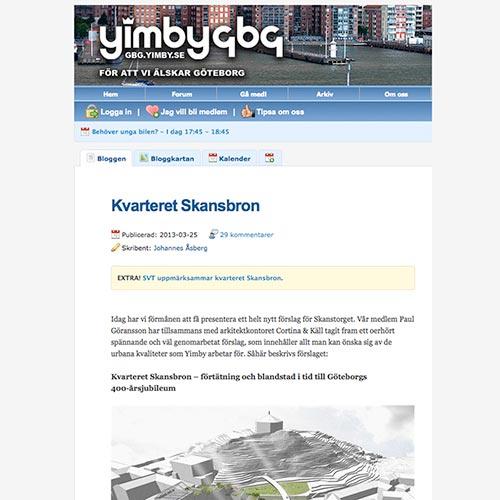 Yimby 2013 | Cortina & Käll